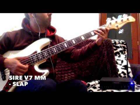 Sire V7 Marcus Miller VS Fender Marcus Miller Japan