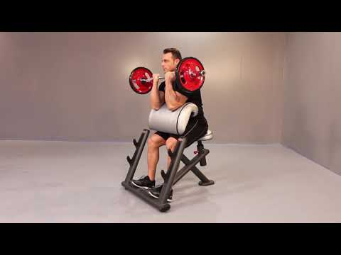 1FE208 – Seated curl bench