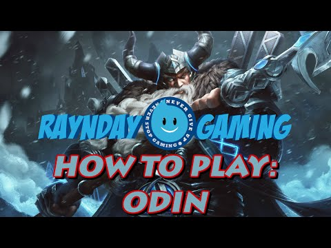 How To Play Odin: Combo Guide, Build, Gameplay and Giveaway! (SMITE) Season 3