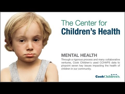 Mental Health - The Center for Children's Health - CCHAPS