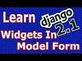 Django 2 Widgets In Model Forms #25