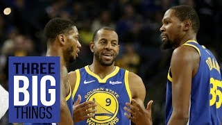 3 Big Things: Drama in Warriors Nation