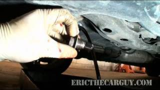 How To Change Honda Automatic Transmission Fluid - EricTheCarGuy