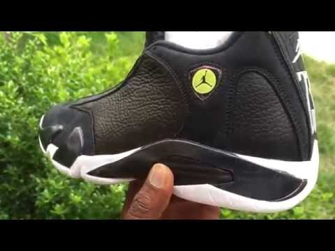 new styles b6716 9efce Air Jordan 14 Retro Indiglo Close Up   More