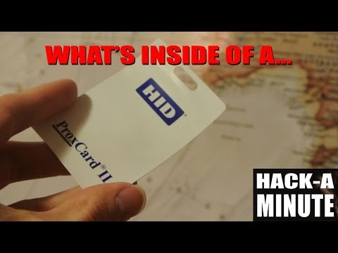 What's inside of a Prox (HID) card? - YouTube
