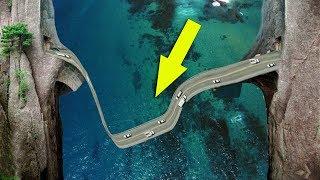 दुनिया के 6 सबसे चौकानेवाले और खतरनाक हाईवे Top Unbelievable Discovery Roads in the WORLD!!!!