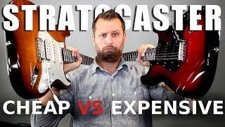 CHEAP Squier vs EXPENSIVE Fender! - Guitar Tone Comparison!