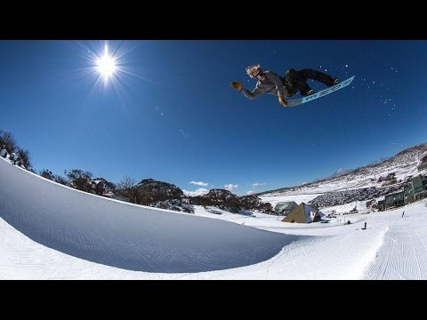 Norwegian Team Snowboard Video Back in Perisher 2016