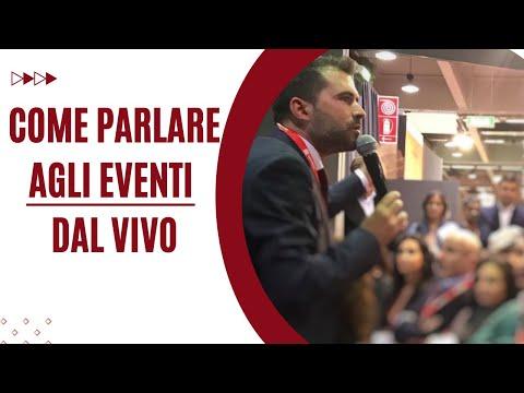 Immagine per Come parlare in pubblico agli eventi dal vivo