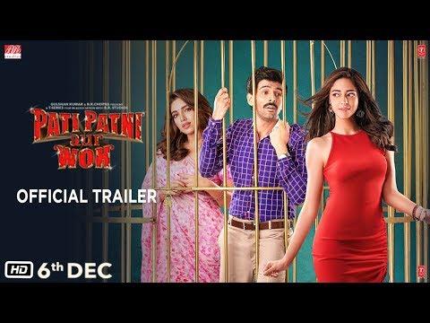 Official Trailer: Pati Patni Aur Woh | Kartik Aaryan, Bhumi Pednekar, Ananya Panday |Releasing 6 Dec Mp3