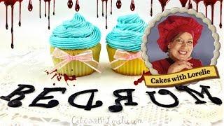 Scary Halloween Cake -The Shining Theme