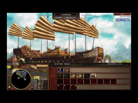 Lost Ships - China M3 - Hard Walkthrough - Age of Empires III Asian Dynasties