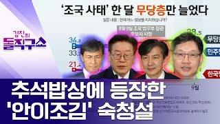 추석밥상에 등장한 '안이조김' 숙청설 | 김진의 돌직구쇼