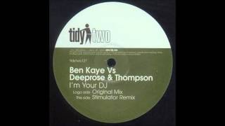 Ben Kaye Vs Deeprose & Thompson   I
