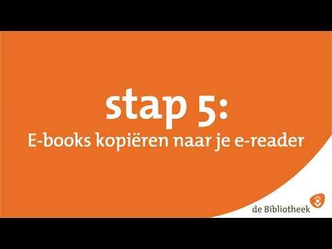 Stap 5 - E-book Kopiëren Naar Je E-reader (DigiBieb)