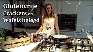 Glutenvrije Crackers en Wafels Belegd