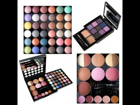 Наборы nyx makeup artist kitpurple smokey kit  youtube