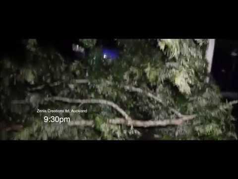 Auckland Cyclone 10 April 2018