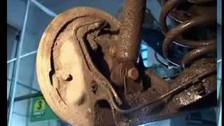 Пособие слесарю по ремонту автомобилей Замена амортизатора на корсе