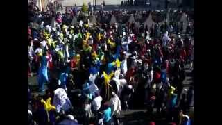 Carnaval Tenancingo Tlaxcala 2015 1ra Vs 3ra Domingo