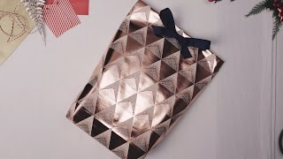 Mu0026S Christmas: DIY Christmas Gift Bag