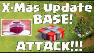 Clash Of Clans Christmas Update 2016 December Sneak Peek Revealed !!