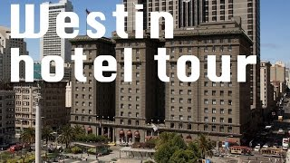 Hotel Tour: Westin St. Francis San Francisco CA Historic tower with Otis Compass