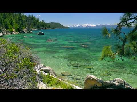 Tahoe Lake. Peaceful Relaxing Lake Sounds recorded with multichannel 5.1 surround audio technology.