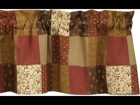 Country Bedspreads and Curtains