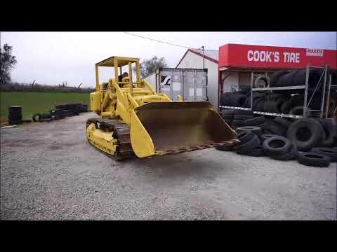 1955 Caterpillar 955 track loader for sale   no-reserve Internet auction  November 30, 2017