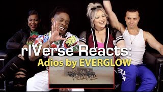 Gambar cover rIVerse Reacts: Adios by EVERGLOW - M/V Reaction