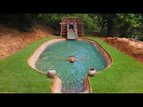 Building Amazing Pool For Swimming