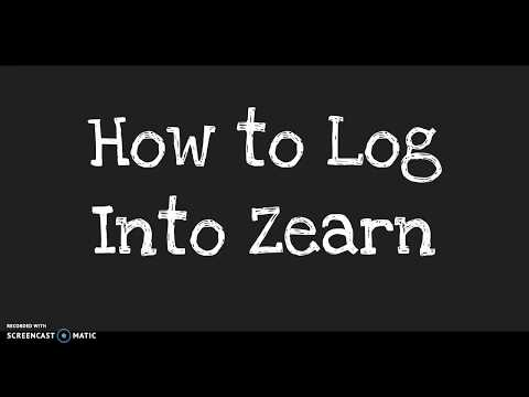 How to Log Into Zearn