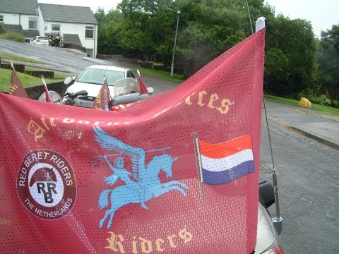 Airborne Forces Riders Arnhem trip Set 2016