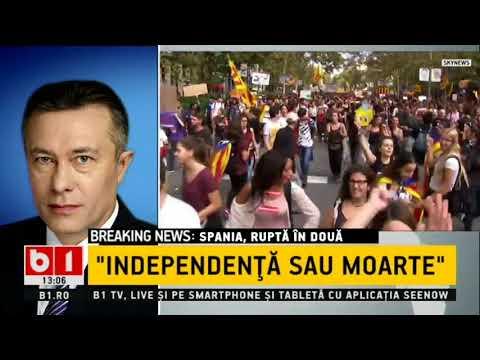 STIRI B1TV VOTUL CARE DA FIORI EUROPEI, SPANIA RUPTA IN DOUA