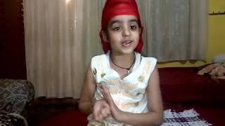 Punjabi Dialogue by Shagun || Montessori Nargis Dutt Public School ~ R.S Pura