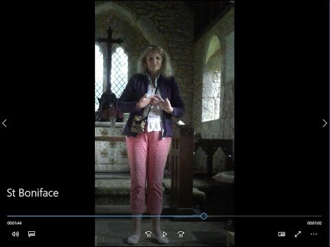 Angel Cuddle Trails - Love Transmission at St Boniface, Bonchurch, Isle of Wight