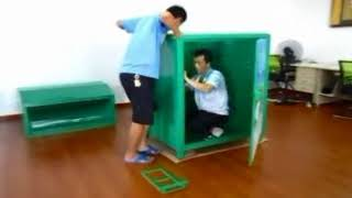 Easy Assembly Clothing Recycling Bins