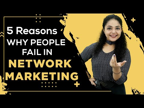 [Hindi] 5 Reasons Why People Fail in Network Marketing | Network Marketing Failure | Direct Selling