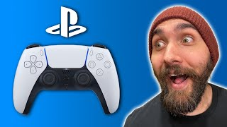 The PS5 DualSense Controller Revealed!