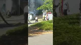 House gets on Fire in Surrey Today