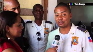 BARBARA EN HAITI - COLLABORATION POLICE NATIONALE D'HAÏTI ET NEW YORK POLICE DEPARTEMENT