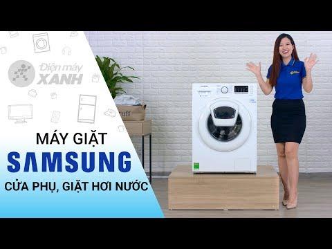 Máy Giặt Samsung: Cửa Phụ Addwash, Giặt Hơi Nước Diệt Khuẩn (WW90K52E0WW/SV) | Điện Máy XANH