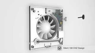 Silent 100 CHZ Design вентилятор с таймером и гидростатом   простая установка(Топовая модель вентилятора из серии Design Silver. Silent 100 CHZ Design Silver оборудован устройством регулировки времени..., 2014-10-24T06:39:34.000Z)