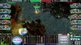 The Onslaught LB Finals - Null vs Ogr game 2