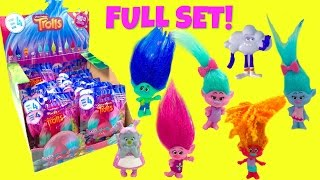 FULL SET of Series 4 TROLLS Movie Blind Bags  - Poppy Branch Bridget Cloud Guy