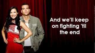 Glee Cast - We Are The Champions (lyrics)