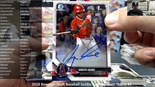 12/14/2018 2018 Bowman Draft Baseball Jumbo Case Random Teams #1 Video