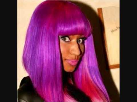 Nicki Minaj Rainbow Hair - YouTube