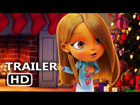 ALL I WANT FOR CHRISTMAS IS YOU  Trailer 2017 Mariah Carey, Animation Movie HD
